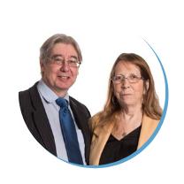 Stephen and Bridget Cox - WIN leaders of Stevenage WIN